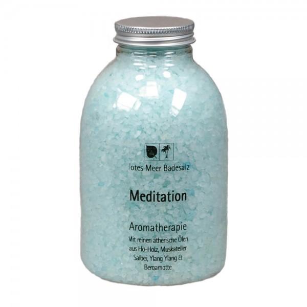 Badesalz Aromatherapie - Meditation (630 g)