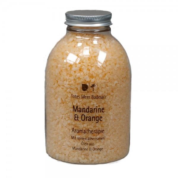 Badesalz Aromatherapie - Mandarine & Orange (630 g)