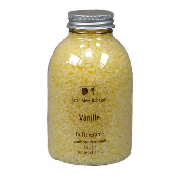 Badesalz Dufttherapie - Vanille (630 g)