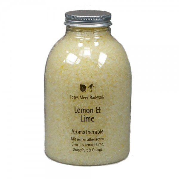 Badesalz Aromatherapie - Lemon Lime (630 g)