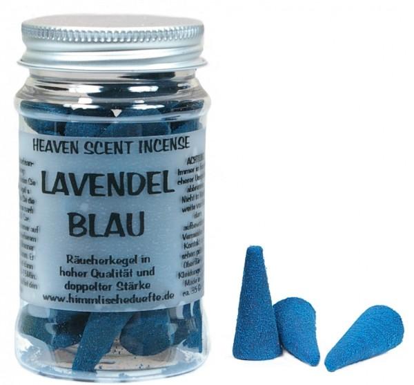 Räucherkegel Lavendel Blau