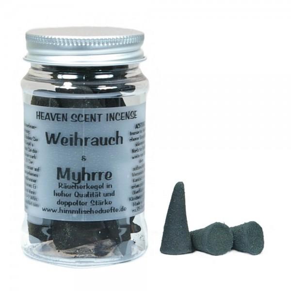 Räucherkegel Weihrauch & Myhrre