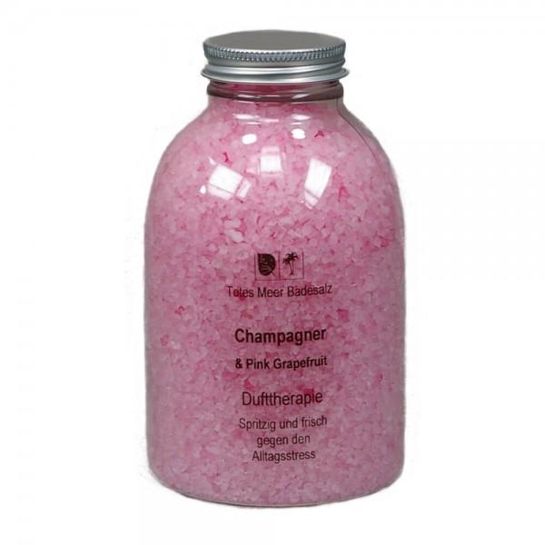 Badesalz Dufttherapie - Champagner & Pink Grapefruit (630 g)