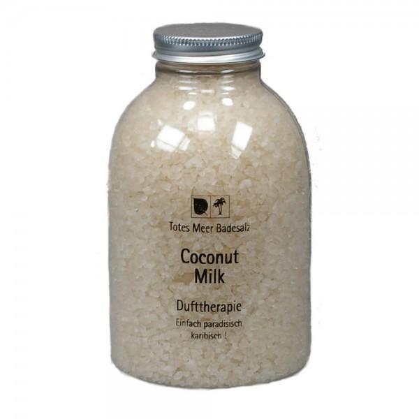 Badesalz Dufttherapie - Coconut Milk (630 g)