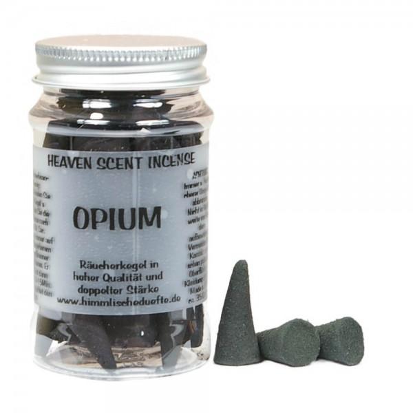 Räucherkegel Opium