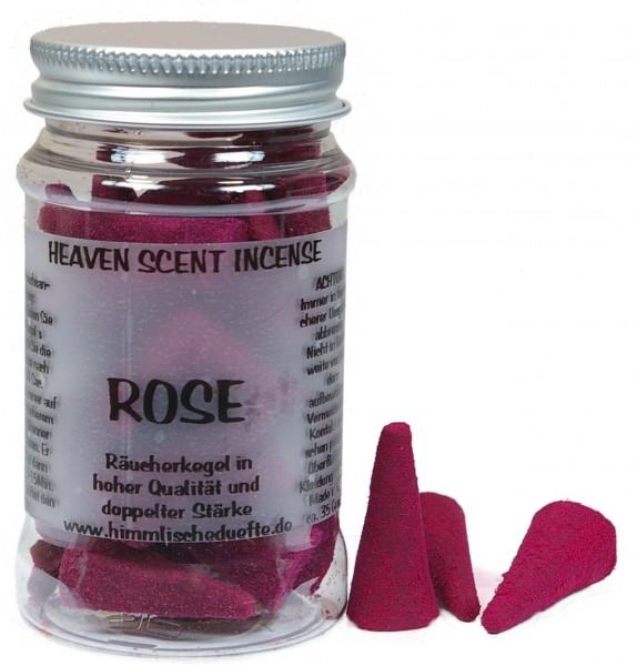 Räucherkegel Rose