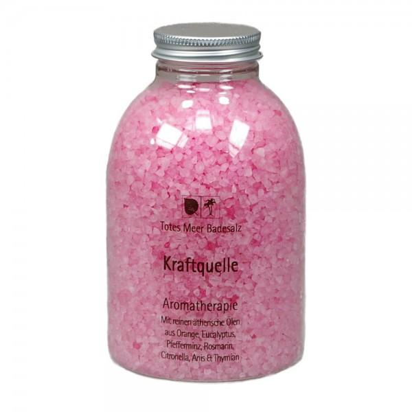 Badesalz Aromatherapie - Kraftquelle (630 g)